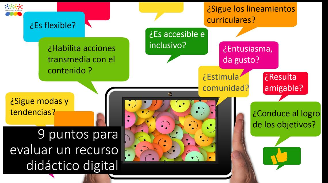 infografía_que_muestra_los_9_puntos_para_evaluar_un_recurso_didáctico_digital