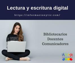 Lectura y escritura en espacios digitales