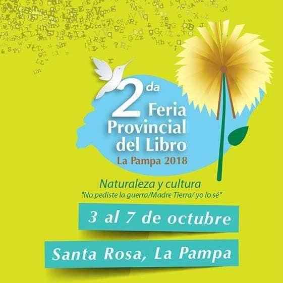 2° Feria Provincial del Libro, La Pampa, 2018