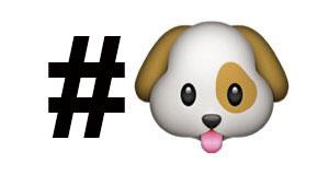hashtag_con_emoji_perrito